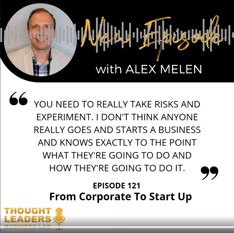 New Episode with Alex Melen